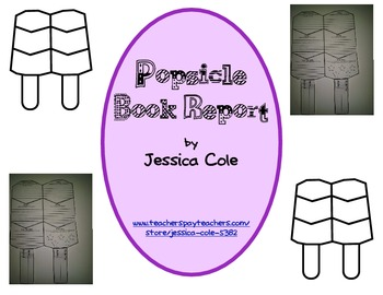 Popsicle Book Report