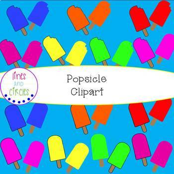 Popsicle Borders, Clipart, and Wallpapers
