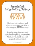 STEM Popsicle Bridge Building Challenge-  Step-by-Step Tutorial