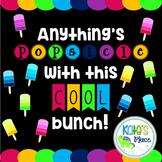 Popsicle Bulletin Board- EDITABLE