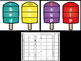 Popsicle CVC Word Puzzles