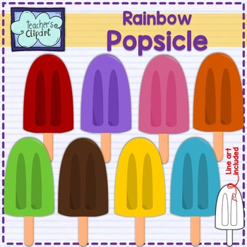 Popsicle Clip art {Summer}