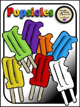 Popsicle Clipart Reg. Price $1.50