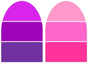Popsicle Color Swatches