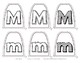 Popsicle / Craft Stick Puppets for the Letter M - Preschool Daycare Curriculum