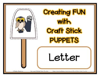 popsicle craft stick puppets for the letter n preschool daycare