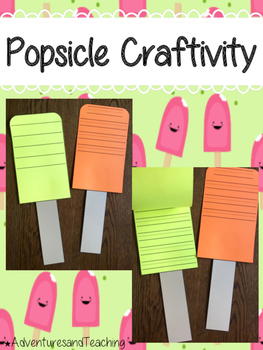 Popsicle {Craftivity}