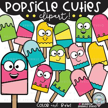 Popsicle Cuties {popsicle clipart}