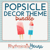 Popsicle Decor Theme - BUNDLE