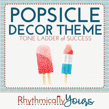 Popsicle Decor Theme - Tone Ladder of Success - positive class behavior plan