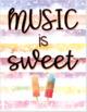 Popsicle Decor Theme - posters