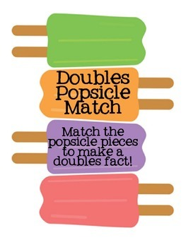 Popsicle Doubles Match Game