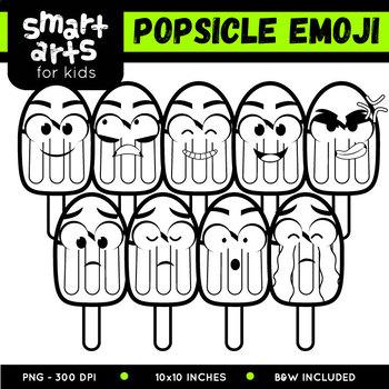 Popsicle Emoji Clip Art