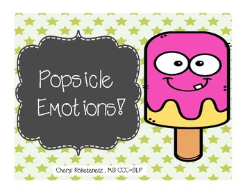 Popsicle Feelings and Emotions