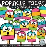 Popsicle Faces Clipart