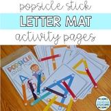 Popsicle Letter Mats