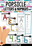 Popsicle Letters & Numbers