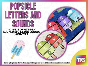 Popsicle Letters & Sounds! Color & Blackline