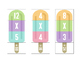Popsicle Multiplication Puzzles