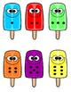 Popsicle Number Match Summer Center