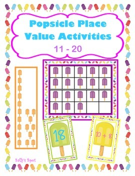 Popsicle Place Value 11 - 20
