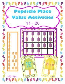 Popsicle Place Value 11 - 20