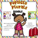 Plural Nouns Game BUNDLE  - 3 Games in 1