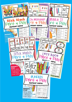 Place Value Games Activities and Worksheets