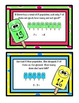 Popsicle Problem Solving (TEKS 1.3B)