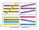 Popsicle Stick Activity Cards - blackline and color sets