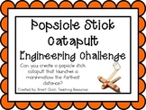 Popsicle Stick Catapult: Engineering Challenge Project ~ Great STEM Activity!