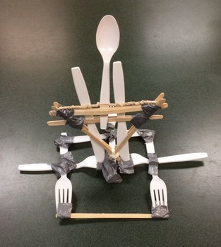 Popsicle Stick Catapult - Freebie