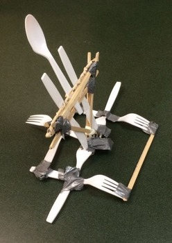 Popsicle Stick Catapult - Freebie