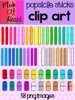 Popsicle Stick Clip Art