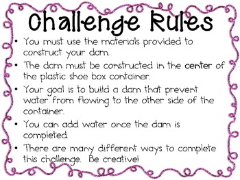 Popsicle Stick Dam: Engineering Challenge Project ~ Great STEM Activity!