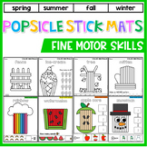 Popsicle Stick Mats: Fine Motor Skill Activities - Popsicle Stick Activities