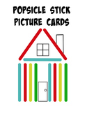 Popsicle Stick Picture Activity Cards