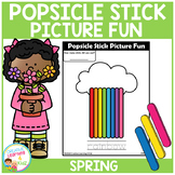 Popsicle Stick Picture Fun - Spring