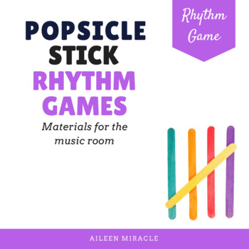 Popsicle Stick Rhythm Games