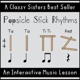 Popsicle Stick Rhythms