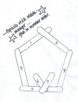 'Popsicle Stick' Stable (pattern)