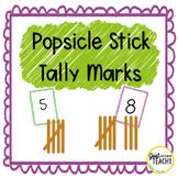 Popsicle Stick Tally Marks