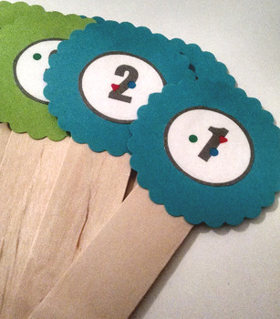 Popsicle Stick Toppers