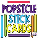 Popsicle Stick Visual Discrimination Cards