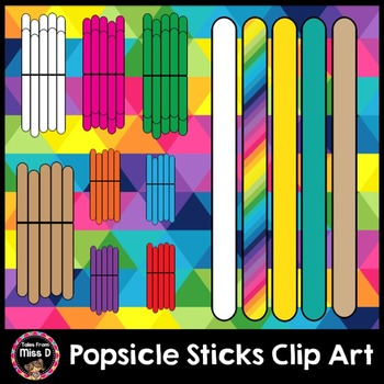 Popsicle Sticks Clip Art