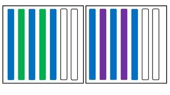 Popsicle Sticks Pattern Cards