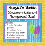 Popsicle Theme Classroom Management and Behavior