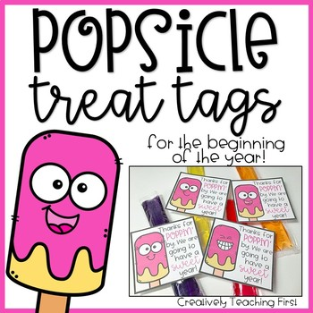 Popsicle Treat Tags