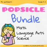 Popsicle Summer Fun Activities - Distance Learning Bundle