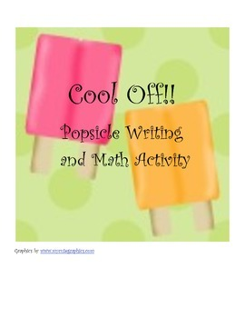 Popsicle Writing and Graphing Activity